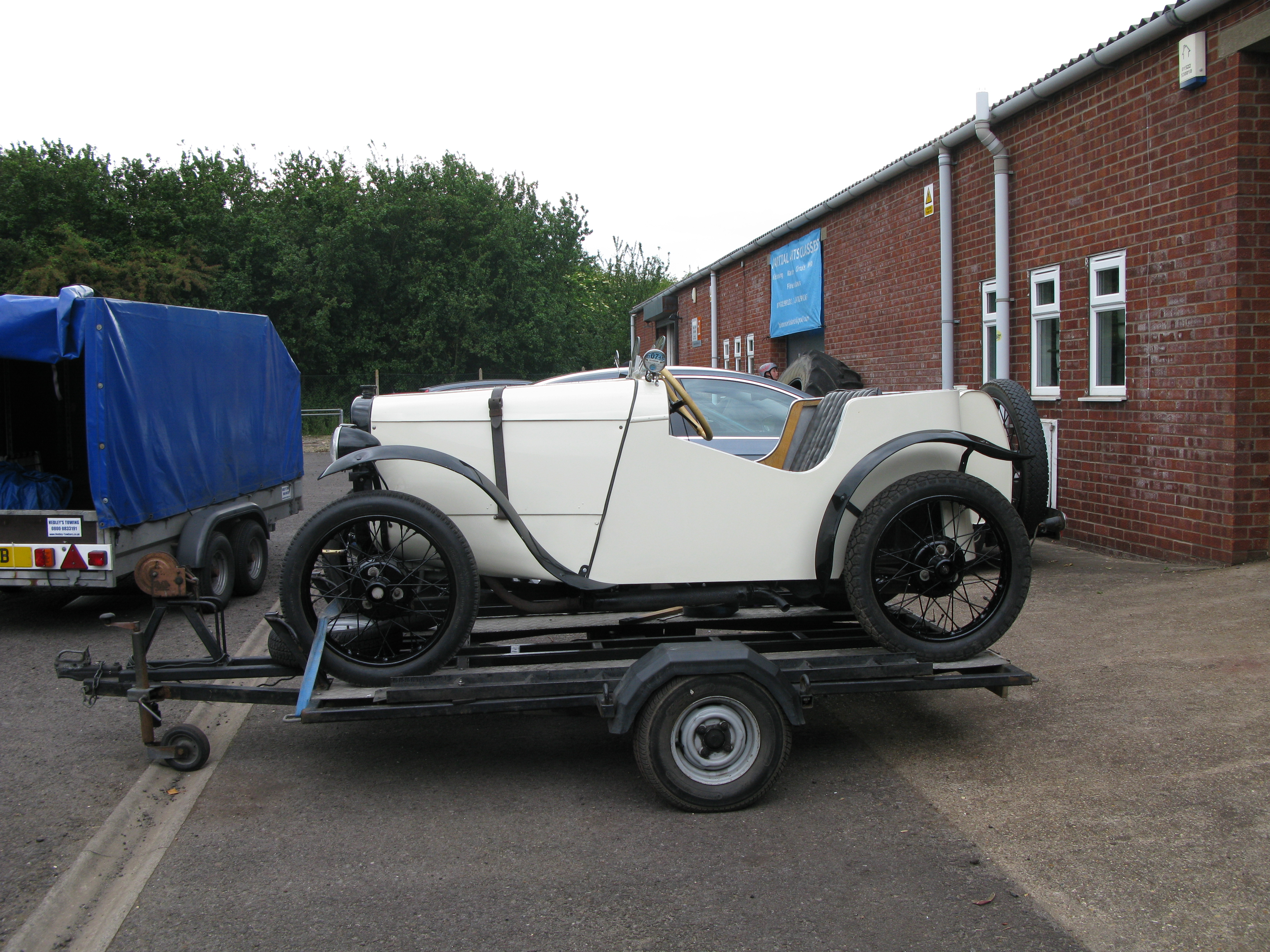 CLUB CAR AND TRAILER | PWA7C Lincolnshire Group